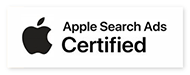 Apple Search Ads Certified